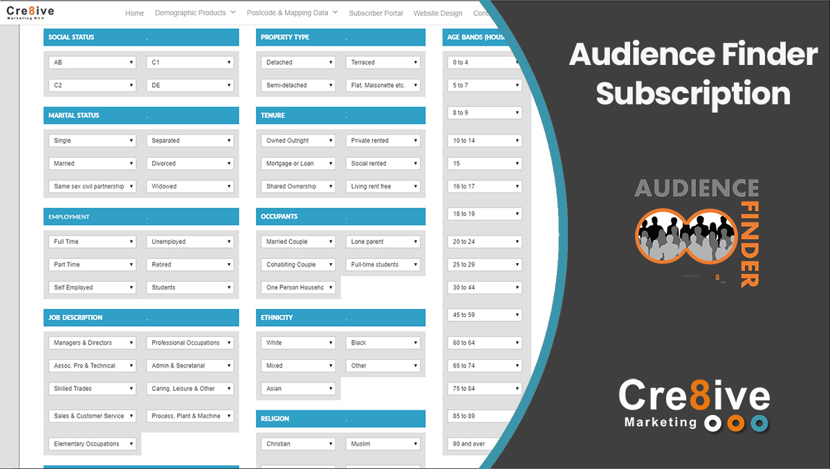 Audience Finder Subscription