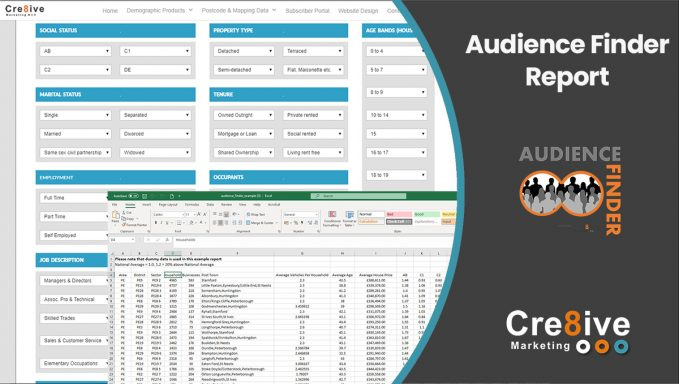 Audience Finder Report