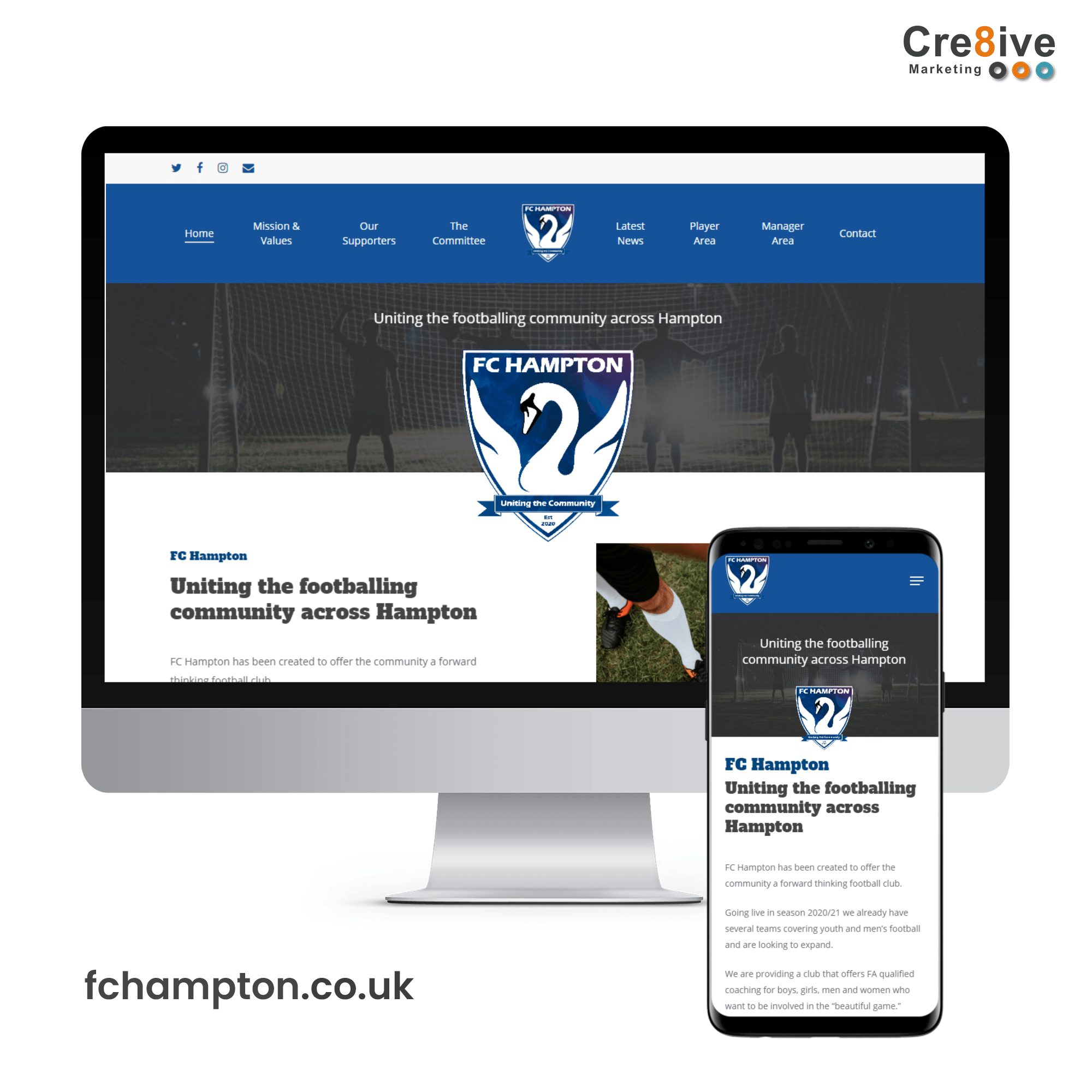fc hampton website