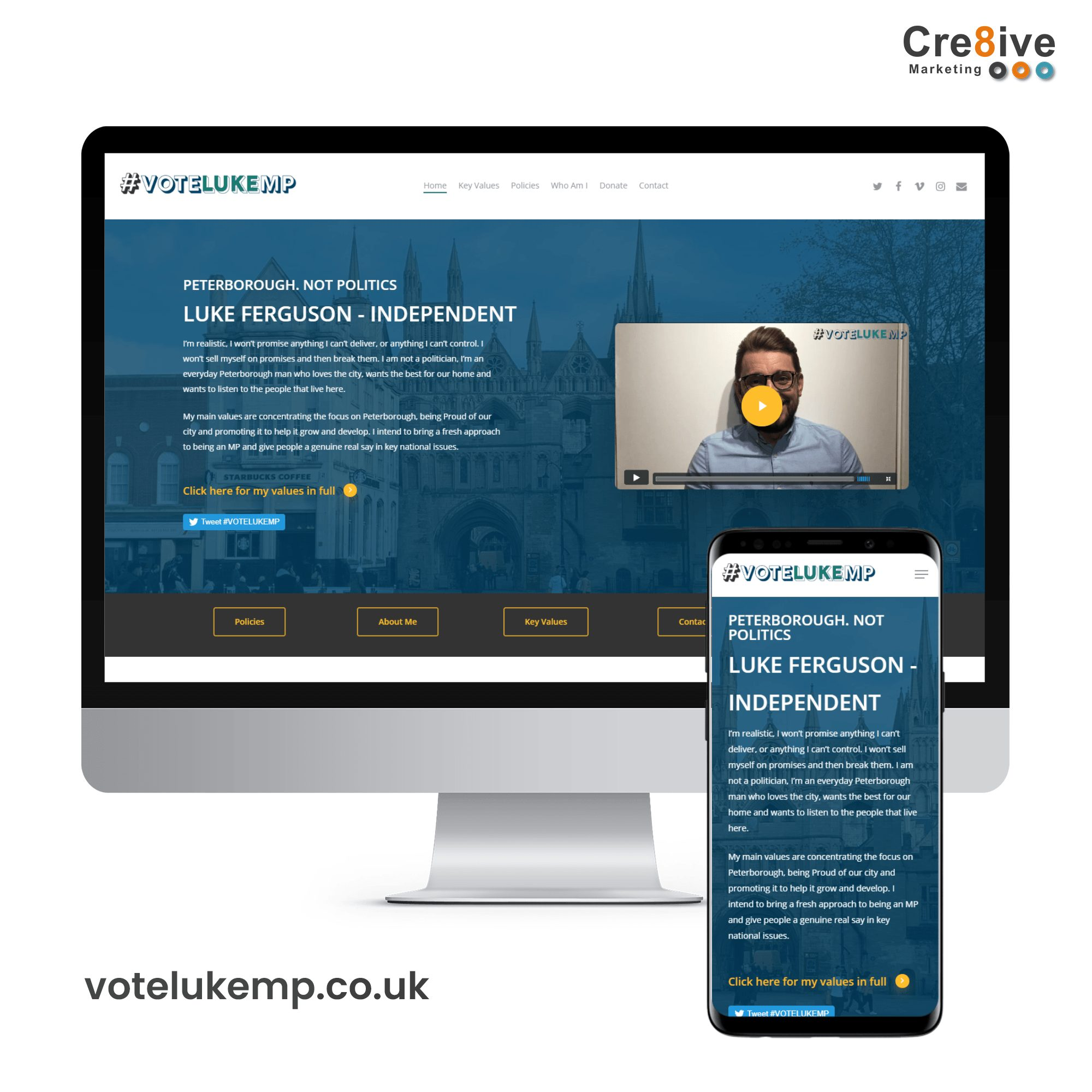 website design political party
